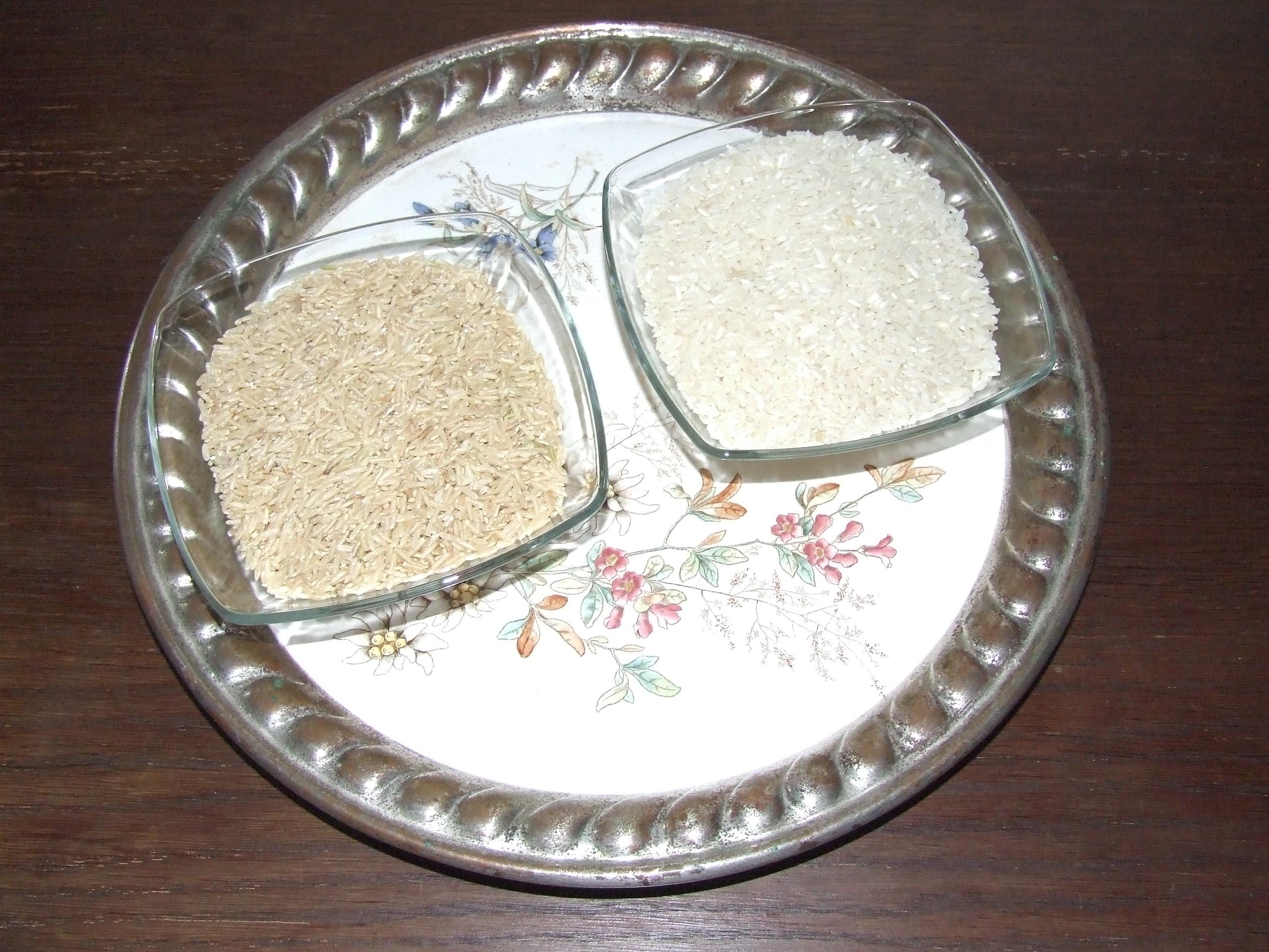 Dlaczego ryż brązowy a nie biały