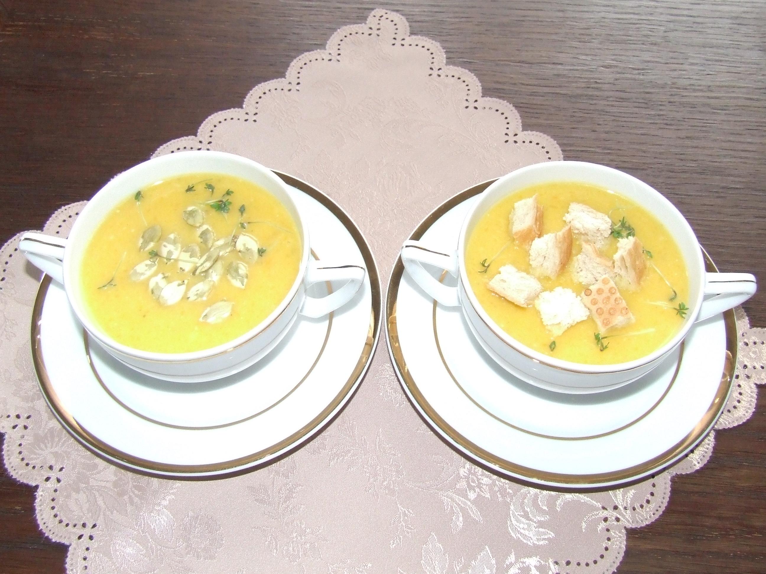 Zdrowe odżywianie w ciąży - zupa krem z dyni