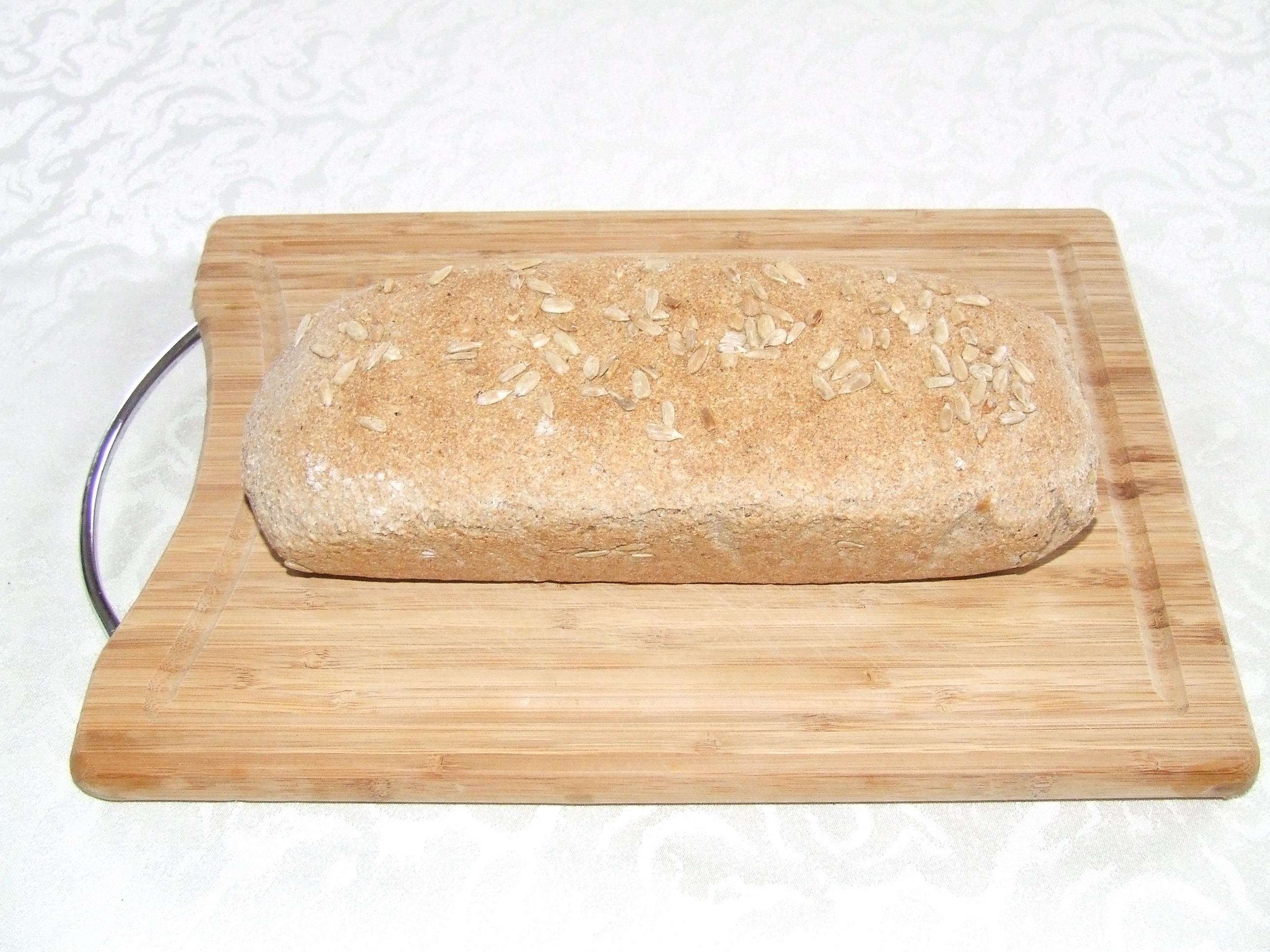 Chleb z mąki z nasion amarantusa
