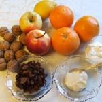 Surówka z pomarańczy i jabłek