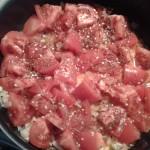 kotlety drobiowe z sosem pomidorowym