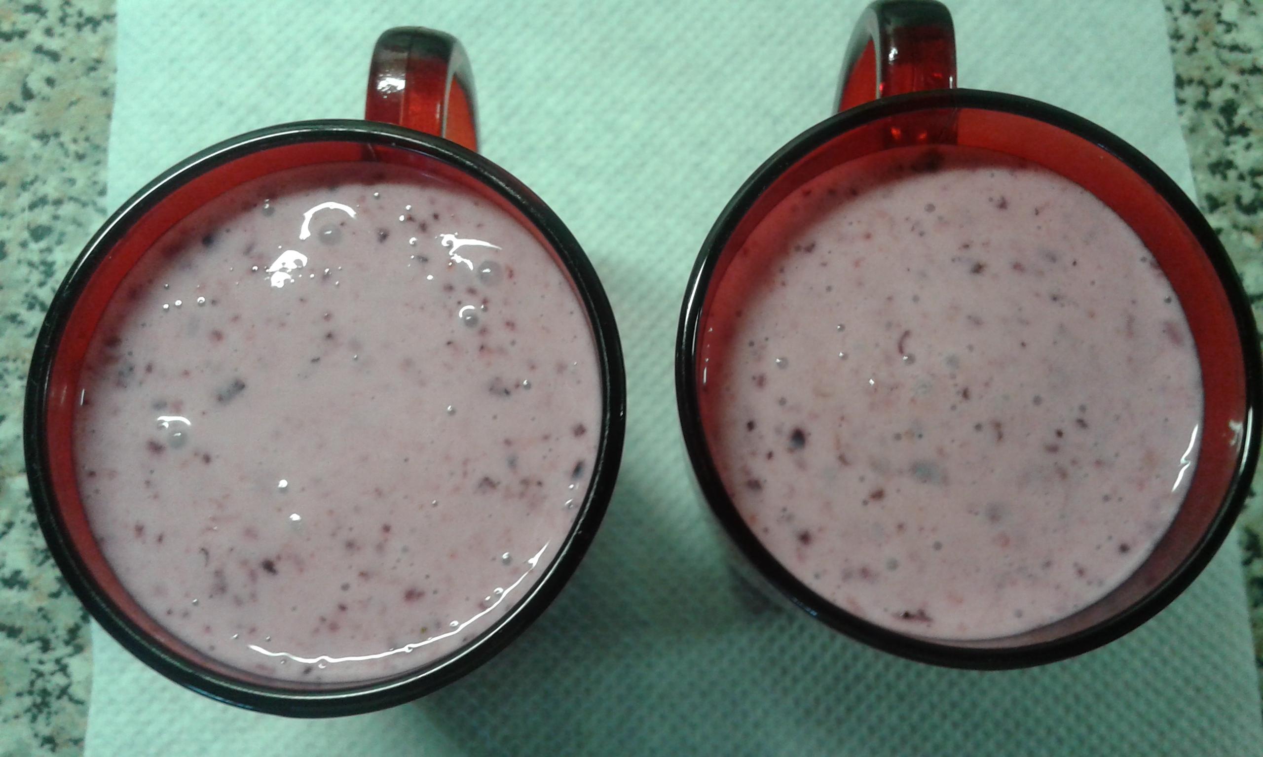 Koktajl mleczno-owocowy
